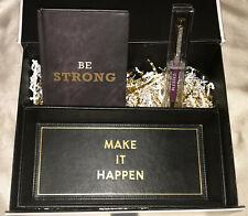 NEW Be Strong Make It Happen Gift Basket Gift Box Set Faith Inspiration Black