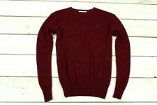 Superdry señores suéter Cashmere Blend cachemira mens Sweater winerot L