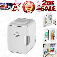Cooluli Mini Fridge Electric Cooler and Warmer (4 Liter / 6 Can): Ac/Dc Portable