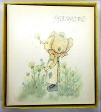 Vintage Hallmark Betsey Clark Address Book Girl Dandelion Puffs Flowers.'70's