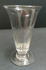 Antique facet cut Jelly Glass c.1810