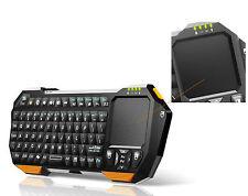 Teclado Bluetooth Keyboard QWERTY para Smart TV televisor lg Sony Samsung medion