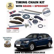 POUR BMW X1 E84 SDRIVE 16D 18D 20D 13-15 KIT DE CHAÎNE TIMING DES CAMES+MOTEURS