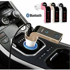 G7 Car Handsfree Wireless Bluetooth FM Transmitter MP3 Player USB LCD Modulator