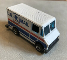 Hot Wheels U.S. Mail Delivery Truck 1976 Hong Kong Post Office USPS Toy US