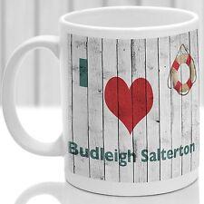 Budleigh Salterton, Gift to remember Devon, Ideal present,custom design.