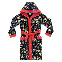 Power Rangers Dressing Gown | Boys Super Ninja Steel Bath Robe | Kids Bath Robe