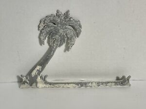 Vintage Palm Tree Screen Door Grill Insert, Gate Topper Architectural Hardware