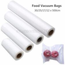 12-30cm Sous Vide Vacuum Scelle Sachet Sac Alimentaire Rangement Stockage Frais