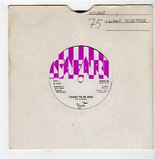 (HG230) Toyah, I Want To Be Free - 1980s - 7 inch vinyl