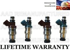 Genuine Denso Set Of 4 Fuel Injectors for 91-94 Toyota Tercel 1.5L 23250-11010(Fits: Toyota Tercel)