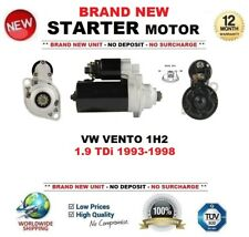 19935UK Fits VW VOLKSWAGEN Vento 1.9 TDI Starter Motor 1996-1998