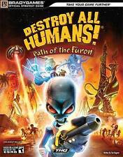Destroy All Humans! Path of the Furon Official Strategy Guide-ExLibrary