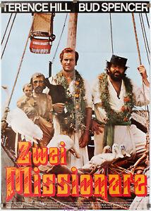 Filmplakat Zwei Missionare/Porgi l'altra guanci 1974 Bud Spencer, Terence Hill