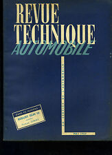 (C11)REVUE TECHNIQUE AUTOMOBILE BERLIET GLM 10 / Pompe SIMMS