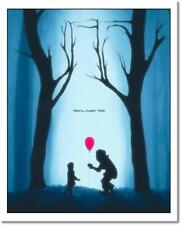 Rare IT Movie PENNYWISE Giclee Poster Daniel Taylor Bottleneck #1 of 100