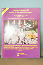 Dungeons and Dragons; Module Q1 - Queen of the Demonweb Pits - 1980