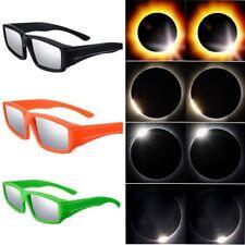 Plastic Sunglasses Safe Sun Viewing CE Certified Eyewear Solar Eclipse Glasses
