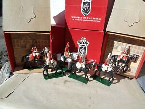 Authenticast SAE He British 1st Life Guards 1915 in box lot of 6, 54mm lead, TD