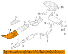 FORD OEM 12-17 Focus 2.0L-L4 Exhaust-Heat Shield CV6Z5811448A