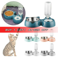 Water Bowl Cat Food Dish Pet Feeder Protect The Spine Cat Ears Shaped Cats Bowl