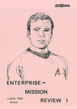 "Star Trek TOS Fanzine ""Enterprise - Mission Review 1, 2"" GEN"