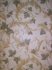 Climbing Ivy Toile Wallpaper SM21576 Easy-Walls gold brown washable prepasted