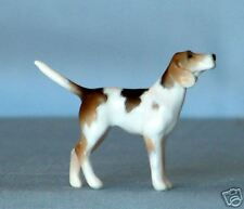 Unpainted Stablemate 1/32 Scale Standing Fox Hound Dog