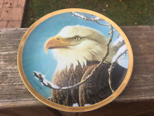 Ruler Of The Sky John Pitcher Bald Eagle Limited Edition Collector Plate 2984A