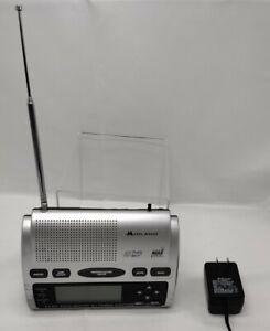 Midland WR-300 Digital AM/FM All Hazards NOAA SAME Weather Radio Alarm Clock