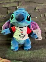 Stitch Peluche Disneyland Paris Neuf I'm Not An Angel Plush