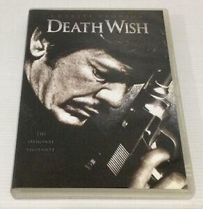 Death Wish DVD Charles Bronson US Import Region 1 NTSC