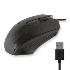 Ratón mouse usb con cable pc ordenador gaming ergonómico nuevo raton