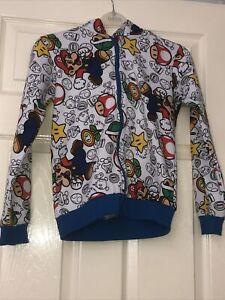 Nintendo super mario hoodie 9-10 Official Merchandise Used