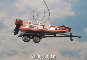 Bass Fishing Boat Custom Christmas Ornament Nitro Ranger Tracker Lund G3 Legend