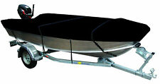 Cyclone 3.9-4.1m Trailerable Open Boat Cover Black Waterproof Marine