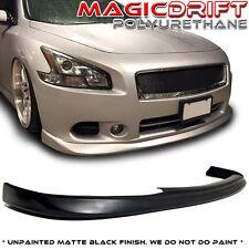 Made for 09-14 Nissan Maxima Sedan 7Gen MDP Flat Front Bumper Lip Chin Splitter