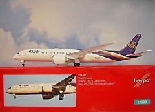 Herpa Wings 1:500  Boeing 787-9  Thai Airways HS-TWA  531467  Modellairport 500