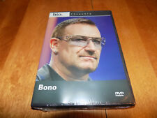 BIOGRAPHY BONO A&E Bio Lead Singer U2 Classic Rock Band U 2 Artist DVD SEALED