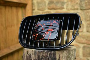 Seat Leon Cupra R Mk1 S Badge Grill For Front Bumper 1ML853654 1ML854643