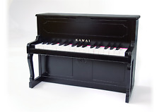 KAWAI Upright Mini Piano 1151 Black 32Key Musical Instrument Toy F/S japan NEW