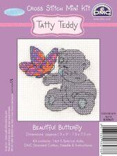 Me to You Beautiful Butterfly Mini Cross Stitch Kit DMC - Tatty Teddy Bear