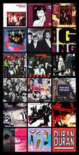 "DURAN DURAN discography magnet (4.5"" x 3.5) cure duran duran david bowie"