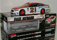 2018 PAUL MENARD #21 MOTORCRAFT AUTOGRAPHED 1/24 CAR#167/493 AWESOME MUST HAVE