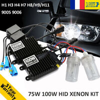75W 100W Voiture HID Xénon Phare Ampoules Ballast Kit H1 H3 H4 H7 H8 H11 9005/6