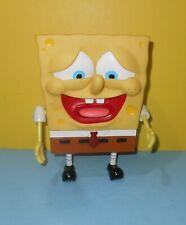 2002 Viacom Spongebob Squarepants Talking Figure Poppin Out Tongue - Pants Fall