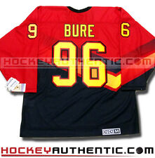 PAVEL BURE VANCOUVER CANUCKS JERSEY CCM VINTAGE RED SKATE 1995