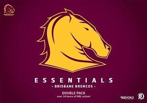 NRL - Essentials - Brisbane Broncos - brand new sealed 6dvd boxset - free post!