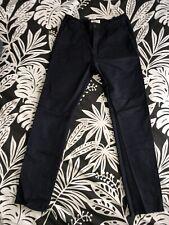 New listing Reserved Boys Navy Chino Pants 13/14 Euro 164 Adjustable Waist