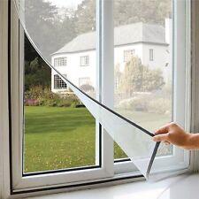 Zanzariera a strappo Adesiva anti zanzare ed insetti Bianco Per finestre - IRS